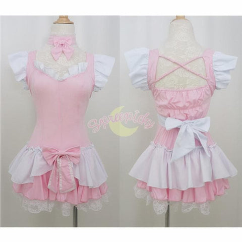 Halloween Cosplay Princess Maid Dress Free Ship SP141196