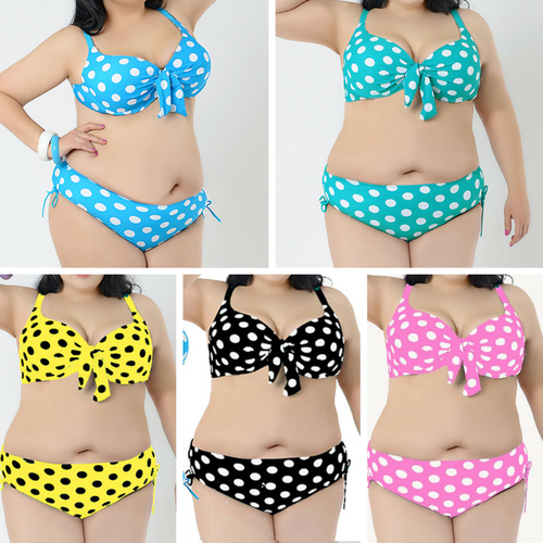 Hot Selling Sexy Dot Bikini Swimsuit SP165572
