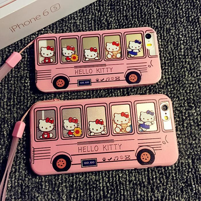 Kawaii Kitty Bus Iphone Phone Case SP165069