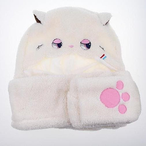 Kawaii Plush 3 Using Scarf/Hat/Gloves SP164812