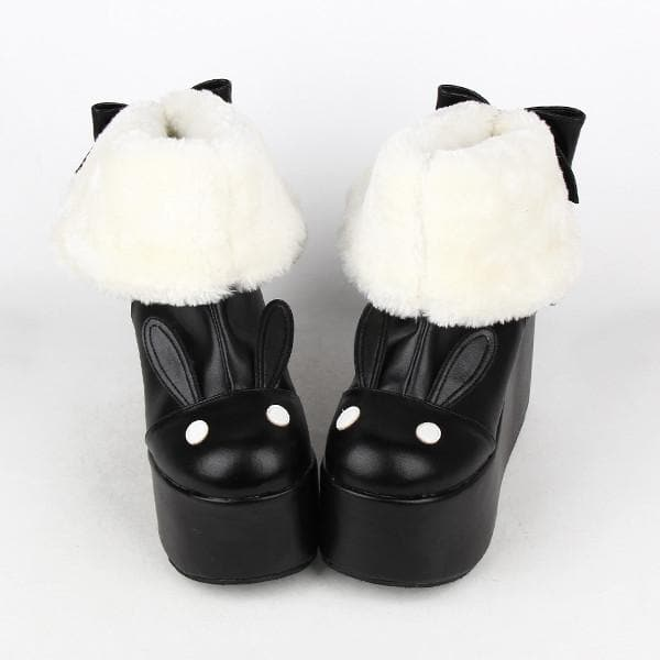 Kawaii Rabbit Ear Lolita Short Boots SP164970 - SpreePicky  - 1