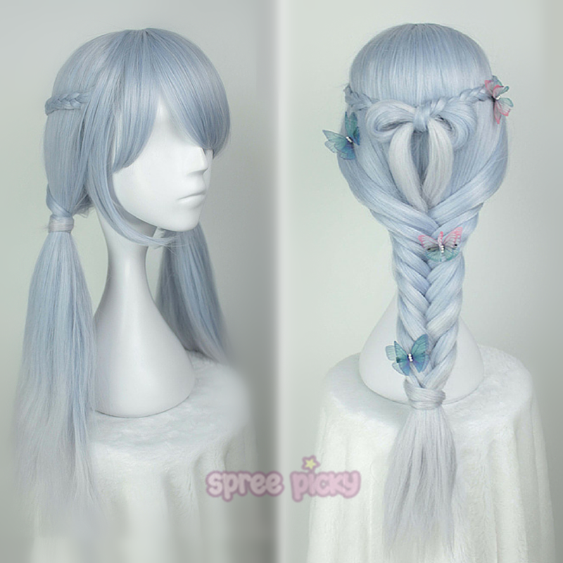 Lolita Ice Blue Long Wig SP166375