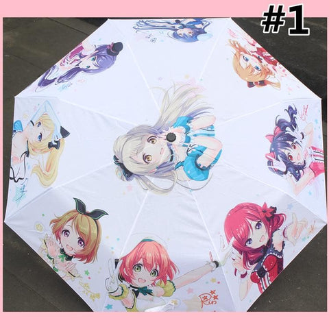Love Live Anime Pattern Folding Umbrella SP166673