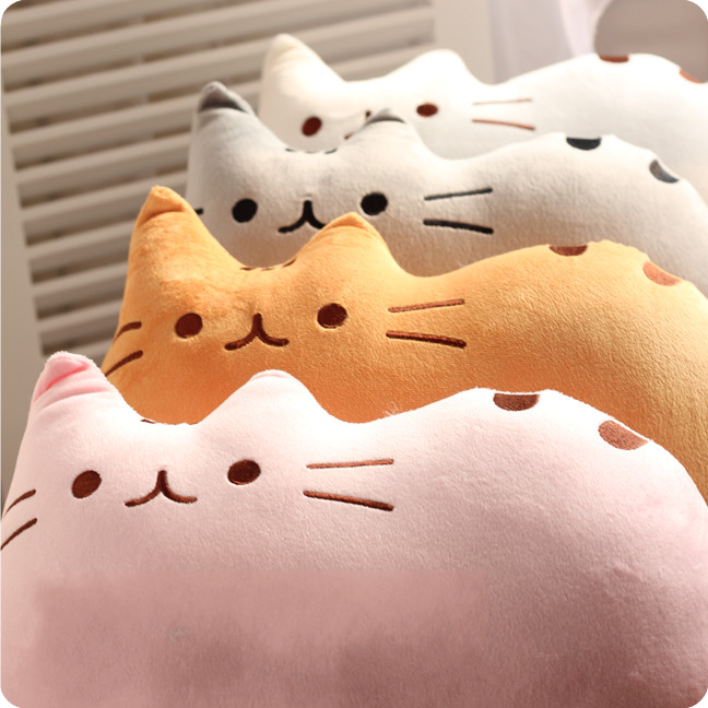 4 Colors Kawaii Neko Cat Cushion SP165887