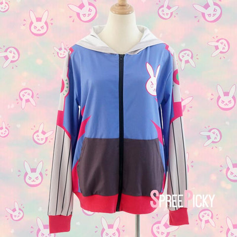 Overwatch D.VA Anime Overcoat SP179045
