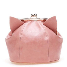 Load image into Gallery viewer, Pink/Black Cute kitten Mini Shoulder Bag SP152949 - SpreePicky  - 1