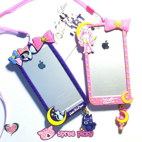 Pink/Purple [Sailor Moon] Iphone 6/Iphone 6 Plus Phone Case SP154280