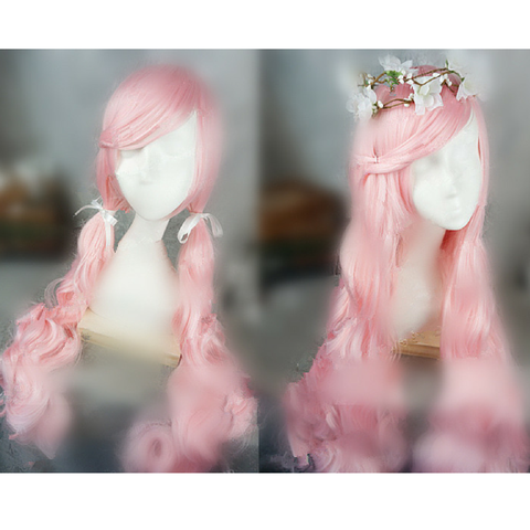 Pink Lolita Long Curl Wig SP166981