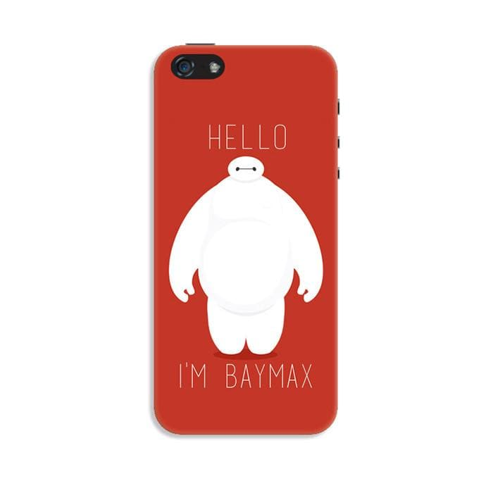 Red Adorable Baymax Silica Gel Phone Case SP166214