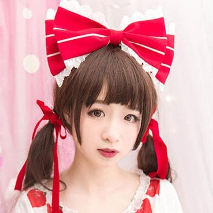 Red Strawberry Hair Band KC SP153572 - SpreePicky  - 1