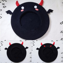 Load image into Gallery viewer, [Reservation] Little Devil Beret Hat SP153792 - SpreePicky  - 1