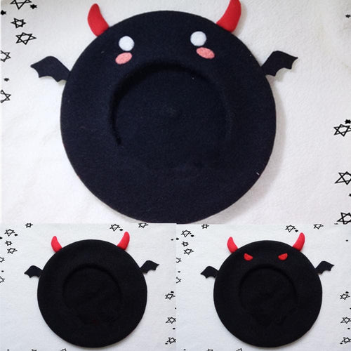 [Reservation] Little Devil Beret Hat SP153792 - SpreePicky  - 1