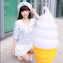 Load image into Gallery viewer, [Reservation] White Cutie Seal Beret Hat SP153426 - SpreePicky  - 3