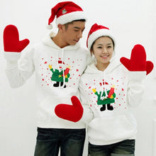 Load image into Gallery viewer, S-2XL Cutie Christmas Snowman Couple Hoodie Jumper SP154095 - SpreePicky  - 1