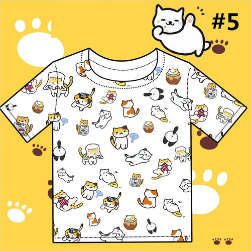 S-3XL Kawaii Cartoon T-shirt SP164975 - SpreePicky  - 1