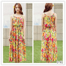Load image into Gallery viewer, S-XL Fresh Sunset Maxi Dress SP152615 - SpreePicky  - 1