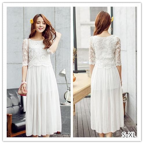 S-XL My White Fairy Dress SP152616 - SpreePicky  - 1