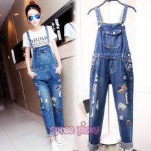 Load image into Gallery viewer, S/M/L/XL Casual Ladies Jean Suspenders SP165430