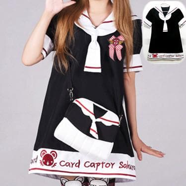 S/M/L [Card Captor Sakura] Seifuku Uniform Dress SP153791 - SpreePicky  - 5
