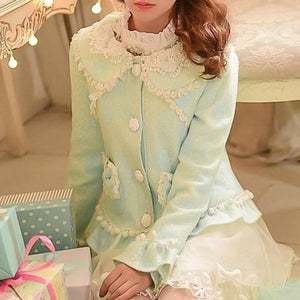 S/M/L Green Forest Fairy Coat SP153625 - SpreePicky  - 1