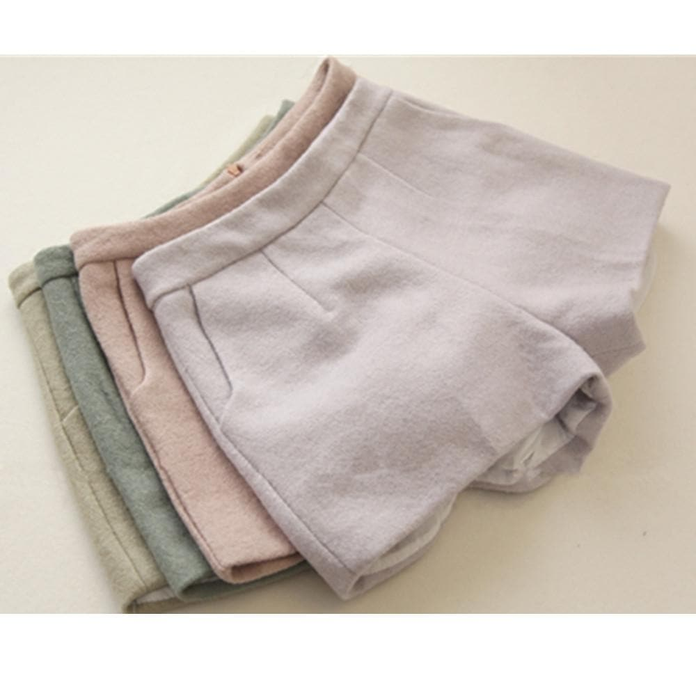 S/M 4 Colors Candy Winter Shorts SP154677 - SpreePicky  - 1