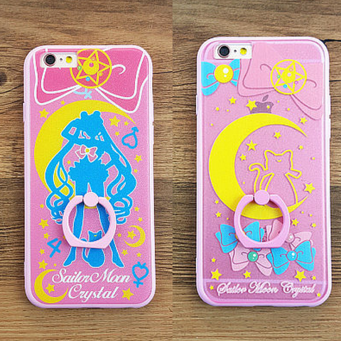 Sailor Moon Iphone Phone Case With Ring Holder SP165252