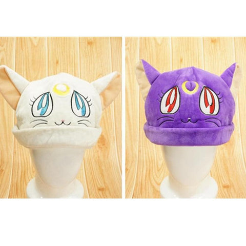 [Sailor Moon] Luna/Artemis Fleece Hat SP154062 - SpreePicky  - 1
