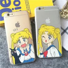 Load image into Gallery viewer, Sailor Moon Usagi iPhone Case SP165228