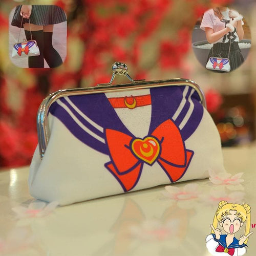 Sailor Moon Seifuku Storage Wallet Bag SP153524 - SpreePicky  - 1