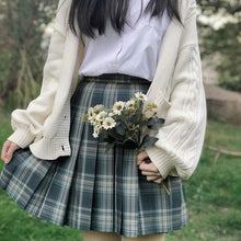 Load image into Gallery viewer, Preppy Style Long Sleeves And Plaid Skirt JK Uniform Suit SP15405