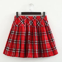 Load image into Gallery viewer, S-3XL Uniform Pleated Skirt SP154547 - SpreePicky  - 21
