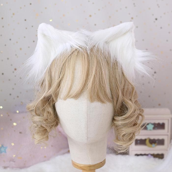 Cute Fluffy Cat Ear Cosplay Hair Clip SP15210