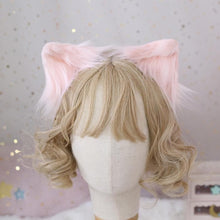 Load image into Gallery viewer, Cute Fluffy Cat Ear Cosplay Hair Clip SP15210