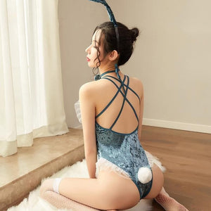 Playful Women Rabbit Bunny Lingerie SP123