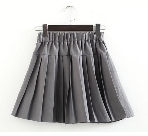 S-3XL Uniform Pleated Skirt SP154547 - SpreePicky  - 23
