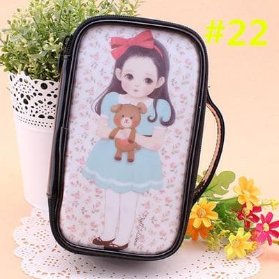 24 Patterns Cutie Girl Cartoon Cosmetic Storage Bag SP153063 - SpreePicky  - 25