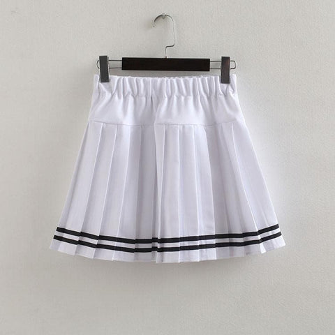 S-3XL Uniform Pleated Skirt SP154547 - SpreePicky  - 24