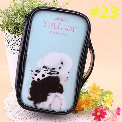 24 Patterns Cutie Girl Cartoon Cosmetic Storage Bag SP153063 - SpreePicky  - 26