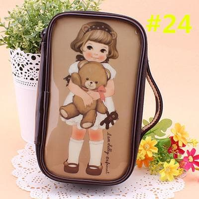 24 Patterns Cutie Girl Cartoon Cosmetic Storage Bag SP153063 - SpreePicky  - 27