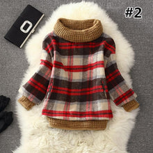 Load image into Gallery viewer, 7 Colors Grids Winter Pullover Fleece Jumper SP164708 - SpreePicky  - 4
