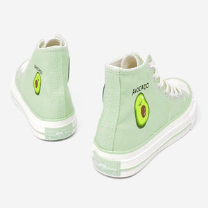 Jfashion Avocado Canvas Shoes SP14877