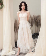 Load image into Gallery viewer, Simple Sweetheart Tulle Prom Dress, Tulle Evening Dress - DelaFur Wholesale