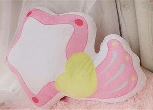 Magical Angel Creamy Mami Inspired Makeup Handbell Plush Pillow SP141362 - SpreePicky  - 4