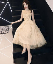 Load image into Gallery viewer, Cute Round Neck Tulle Short  Prom Dress, Homecoming Dress - DelaFur Wholesale