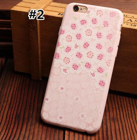 Lovely Spring Floral Phone Case SP166182