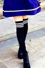 Load image into Gallery viewer, 8 Colors Stripes Thigh High Over Knee Socks SP153576 - SpreePicky  - 3