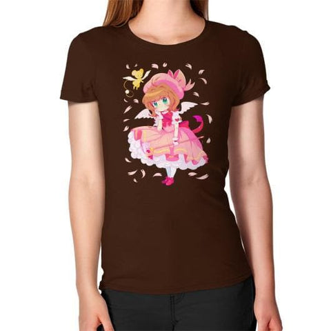 Wonderful Sakura Woman Tee Shirt - SpreePicky  - 5