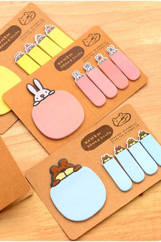 4 Colors Mori Girl Message Sticky Note SP153128 - SpreePicky  - 3