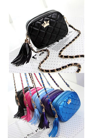 5 Colors Little Crown Shoulder Bag SP154297 - SpreePicky  - 2