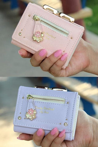 7 Colors Cutie Short Wallet Purse SP153526 - SpreePicky  - 3